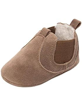 ❆Huhu833 Kinder Mode Baby Schuhe Soft Sole, Baby Kleinkind Plüsch Sole einzelne Schuhe beiläufige Mit Samt Schuhe...