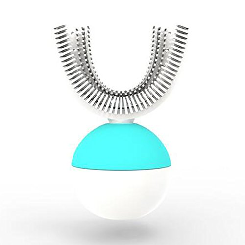 U-Form-Automatische Faule Zahnbürste Elektrische Sonic-Ultraschallzahnbürsten-Wieder Aufladbare Elektrische Zahnbürste Neu