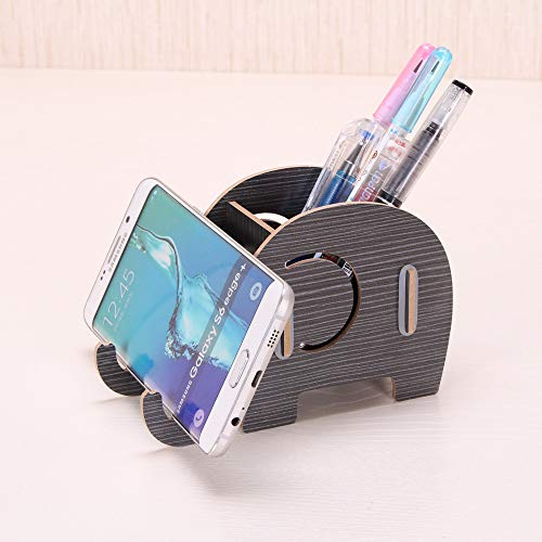 Aobiny Telefonständer mit Stiftehalter und Stifthalter für iPhone Samsung Huawei, Tischdekoration, multifunktional, Geschenk für Valentinstag, Muttertag, Geburtstag a