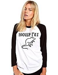 HotScamp Mouse Rat Womens Baseball Top
