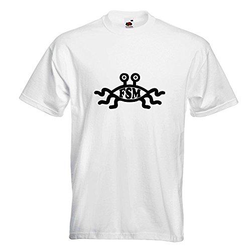 KIWISTAR - FSM T-Shirt in 15 verschiedenen Farben - Herren Funshirt bedruckt Design Sprüche Spruch Motive Oberteil Baumwolle Print Größe S M L XL XXL Weiß