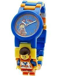 LEGO Movie Emmet - 9009976 - Montre Enfant - Quartz - Analogique - Bracelet Plastique Multicolore