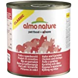 Almo Nature Cat Food Classic Chicken and Shrimps, Pack of 12 x 280g