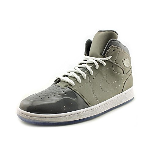 Jordan 1 Retro '95 Cuir Baskets Medium Grey-White-Cool Grey