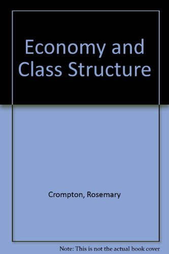 Economy and Class Structure