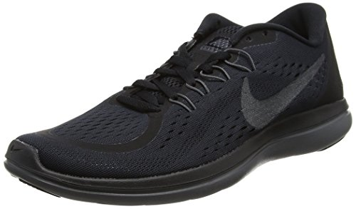 Nike Flex 2017 RN, Chaussures de Course Homme Noir (Black/metallic Hematite-anthracite-dark Grey)