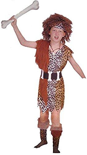 Karneval Höhlenmensch Kostüm 4–6Jahre (Höhlenmenschen Kostüme)