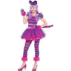 Amscan International - Disfraz de gato para niñas, 14 - 16 años (999450)