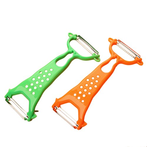 1x Kitchen Tools Helper Vegetable Fruit Peeler Parer Julienne Cutter Slicer Parer
