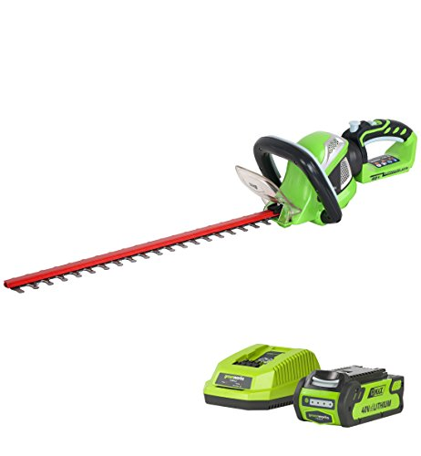 Greenworks Tools 40V Akku-Heckenschere inklusive 2Ah Akku und Ladegerät - 22637TUA