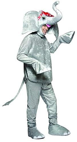 Circus - Disfraz de elefante del circo adultos, talla única (10200)