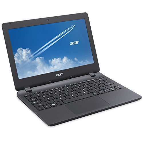 ACER TravelMate B117 29,5cm (11,6 Zoll mattes Display) Notebook (Intel N3050 Dual Core 2x 2,16 GHz, 4GB RAM, 500GB S-ATA 3 HDD, Intel HD Grafik, HDMI, HD Webcam, USB 3.0, WLAN, Bluetooth, Windows 10 Professional 64 Bit, Vollversion Office 2013 Professional Plus) #1158