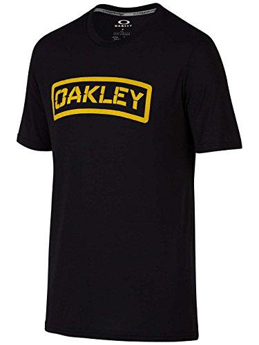 Oakley Herren O-TAB Tee Printable Tees, Blackout, S