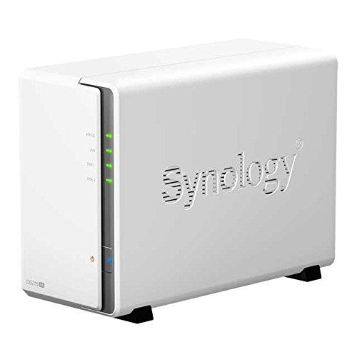 Synology DS216se 800MHz 256MB Ram 2-Bay NAS Server Bundle mit 2x 2TB Toshiba P300 HDWD120