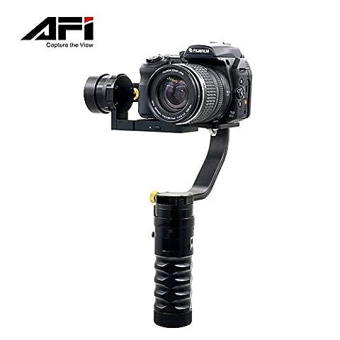 AFI VS-3SD Handheld 3-Axle Brushless Handheld Steady Gimbal Stabilizer for Canon 5D 6D 7D for Sony for GH4 DSLR