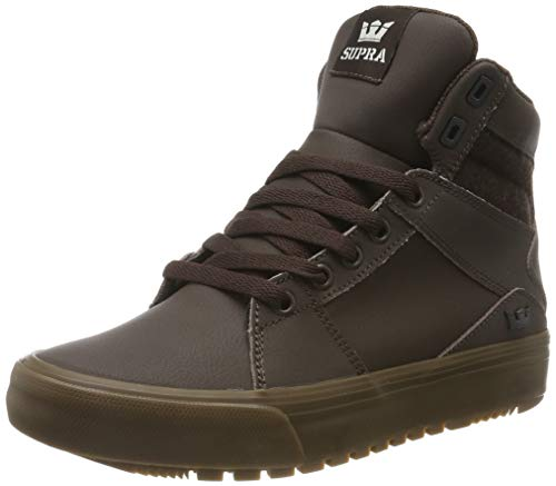 Supra Aluminum CW, Zapatillas de Skateboard Unisex Adulto, Marrón Demitasse-Gum-M 249, 38 EU