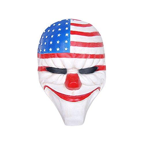 für Zahltag 2 Thema, Horror Cosplay Party Maske, Cosplay von Counter Strike, Kostümspiel und mehr (Dallas) ()