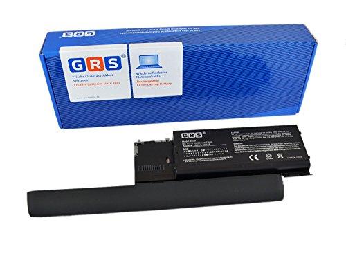 GRS Batterie d'Ordinateur Portable avec 6600 mAh fç ¬ R Dell Latitude D620, PC764 451-10298, remplace batterie d'origine désignations : PC764, 312-0383, 451-10298, 310-9080, JD634 Accu Ordinateur Portable avec 6600 mAh, 11,1 V