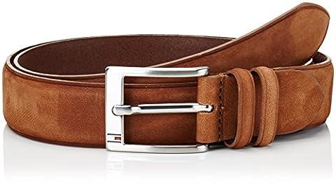 Tommy Hilfiger Herren Gürtel Houston Adjustable Belt Braun (Cuoio 965), 110 cm
