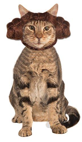 Kopfbedeckung Katze Kostüm - Star Wars Prinzessin Leia Katze Kopfbedeckung, eine Größe passend für die meisten