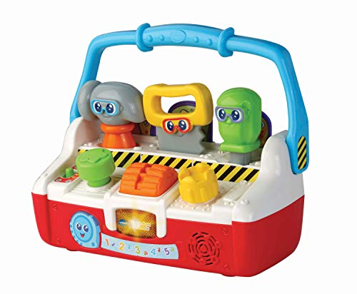 VTech Tool Box Friends Baby Musical Toy, Educational Baby Toy with Music & Sounds, Electronic Preschool Toy Suitable for Boys & Girls for 12 Months, 2 & 3 Year Olds