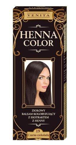 Henna Color 19 - Tinte Cabello Chocolate Oscuro -