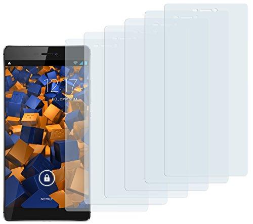 6 x mumbi Schutzfolie Huawei P8 Folie Displayschutzfolie