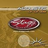 Stagg 13480 Cordes pour Guitare acoustique