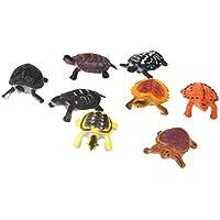 Kunststoff PVC Tortoise Modell Kinder Spielzeug 8 Stück Multi Color preisvergleich bei billige-tabletten.eu