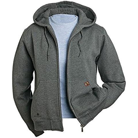 Dri de alimentación de corriente Wildfire en forma de pato para 9570 para mujer de forro polar chaqueta con cremallera, Mujer, color gris - DARK OXFORD, tamaño US Large