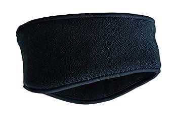 Myrtle Beach - bandeau polaire Thinsulate - noir - MB7929 - mixte homme/femme - protège bien les oreilles