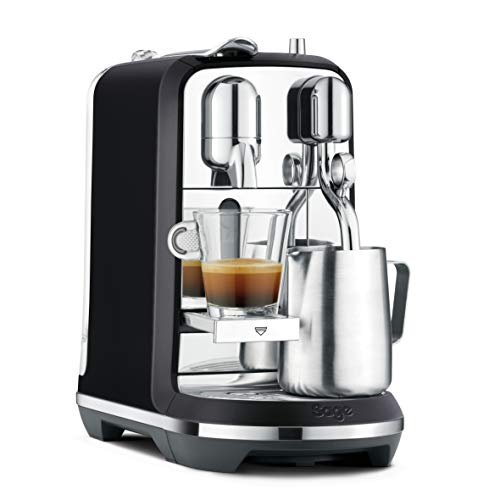 Sage Appliances SNE800BTR The Creatista Plus Macchina Nespresso, Nero Opaco