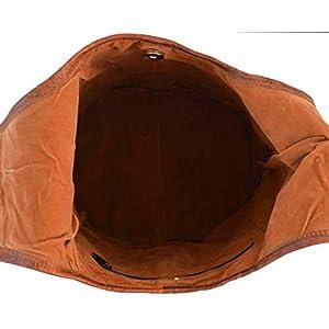 41XKxEWIL5L. SS300  - Gusti Bolso Bandolera Josephine Bolso Cruzar Bolso Mediano Vintage marrón Cuero