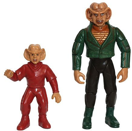 Rom, Bruder von Ferengi Quark - Actionfigur - Star Trek Deep Space Nine von Playmates (Deep Space Nine Playmates)