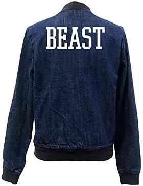 Beast Bomber Chaqueta Girls Jeans Certified Freak