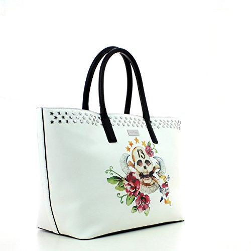 Grace Jones Tote Bag WHITE SKULL