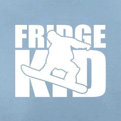 Fridge Kids Snowboard - Herren T-Shirt - 13 Farben Himmelblau