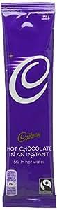 Cadbury Hot Chocolate Powder Sachets Fairtrade 1 Cup Ref A07592 - Pack 30