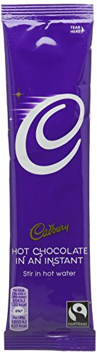 Cadbury Hot Chocolate Powder Sachets Fairtrade 1 Cup Ref A07592 - Pack 30