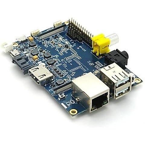 Banana original proyecto Pi junta con Dual Core, 1 GB de memoria, Fast Ethernet RJ45,el puerto SATA ,opcional,WIFI Android