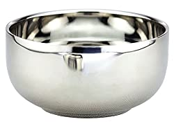 Stainless steel double bowl stainless steel bowl with lid lidded bowl
