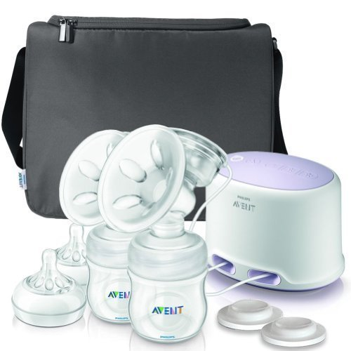Philips AVENT Double Electric Comfort Breast Pump, White by Philips AVENT (English Manual)