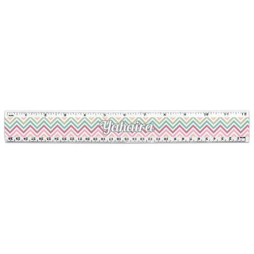 I Love Heart Names Female Y 12 Inch Standard and Metric Plastic Ruler -  Yahaira