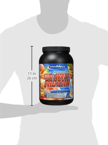 Ironmaxx 100% Whey Protein Pfirsich Mascarpone