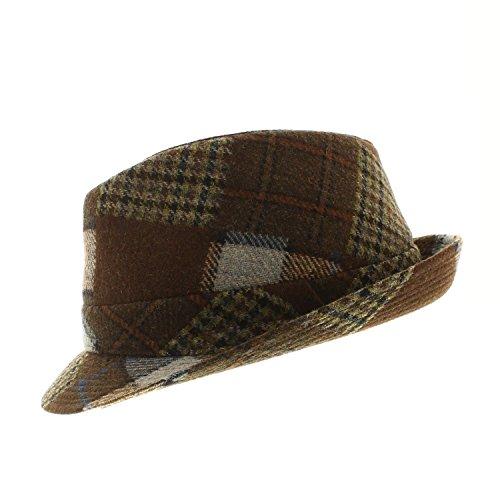 Votrechapeau Chapeau Trilby - Petit Bord - Lazo - Patchwork