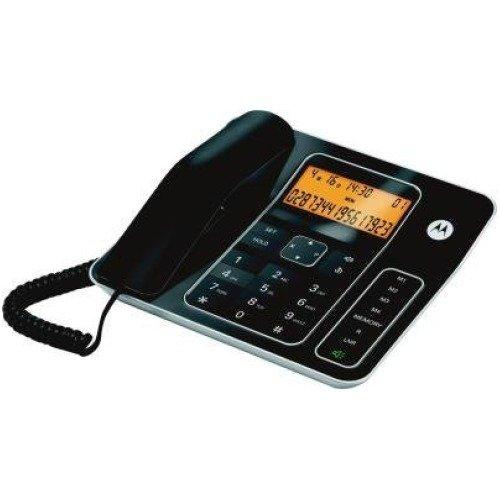 Motorola CT340 Schnurlostelefon schwarz