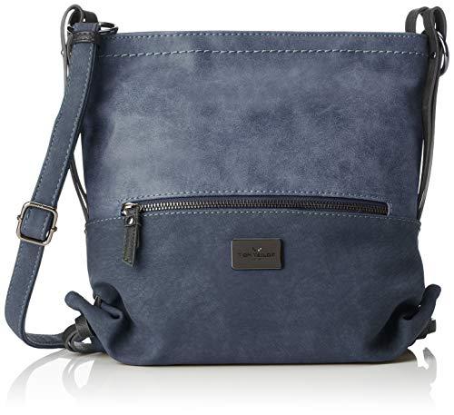 TOM TAILOR für Frauen Taschen & Geldbörsen Umhängetasche Elin blau/blue, OneSize