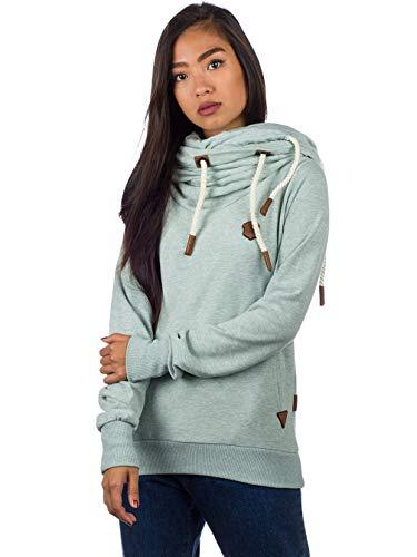 Naketano Damen Sweater Unterfickte Alte Sweater Alter Sweatshirt