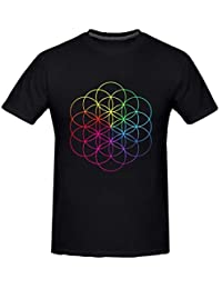 Kerner Men's Coldplay A Head Full Of Dreams Rock Cotton T-shirt