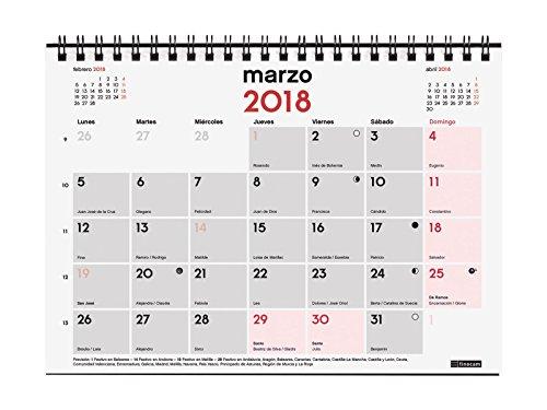 Calendario Spagnolo.Finocam Neutro Calendario Da Tavolo Per Appunti Spagnolo